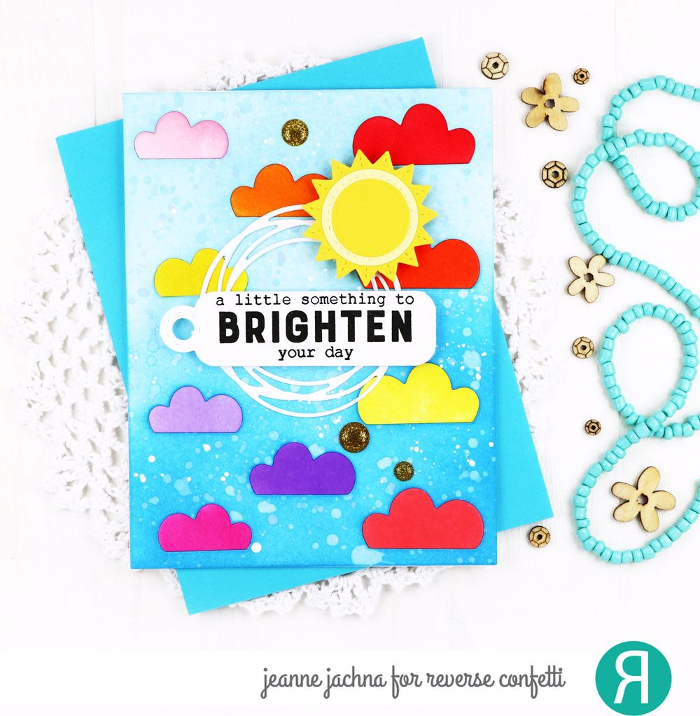 Cloudy Day Cover Panel Confetti Cuts