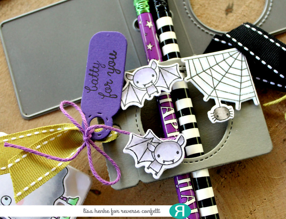 Fold Over Window Tag Confetti Cuts