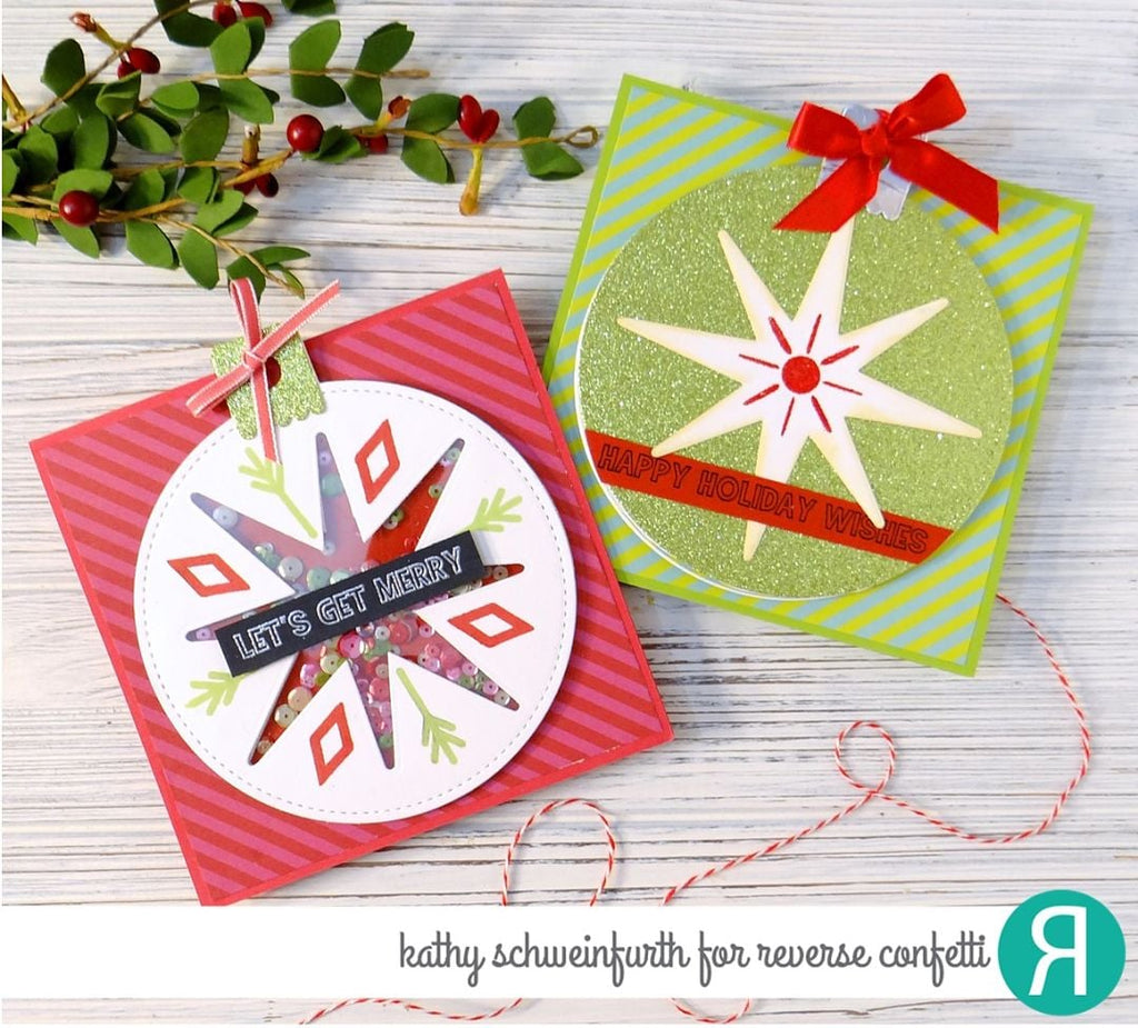 Ornament Star Confetti Cuts