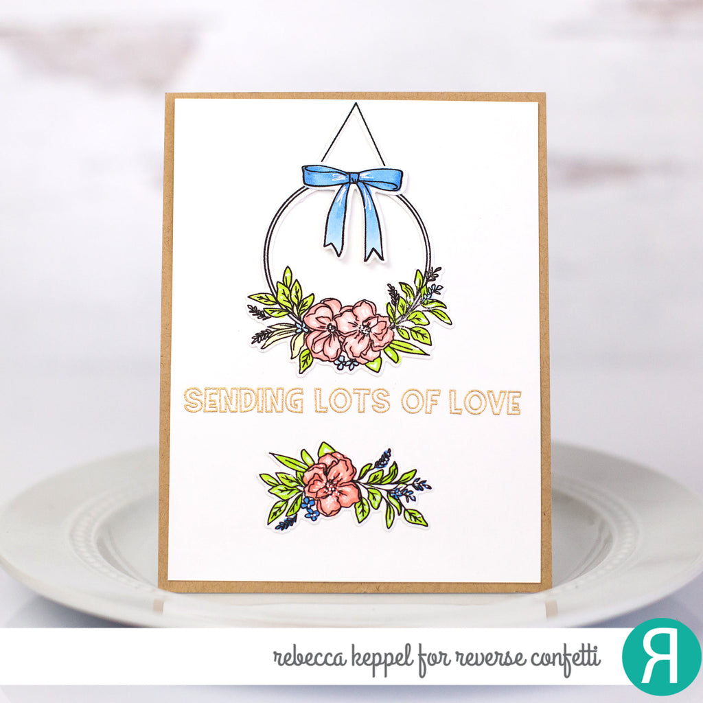 Farmhouse Wreath Confetti Cuts