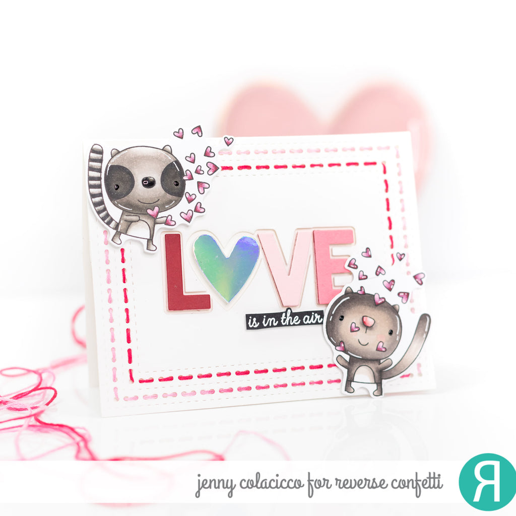 Love is in the Air Confetti Cuts