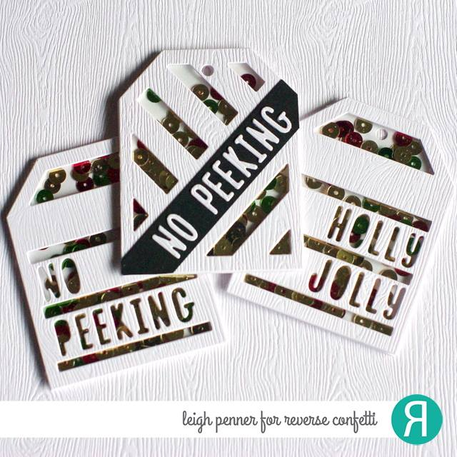 2 Way Stripes Tag Layer Confetti Cuts