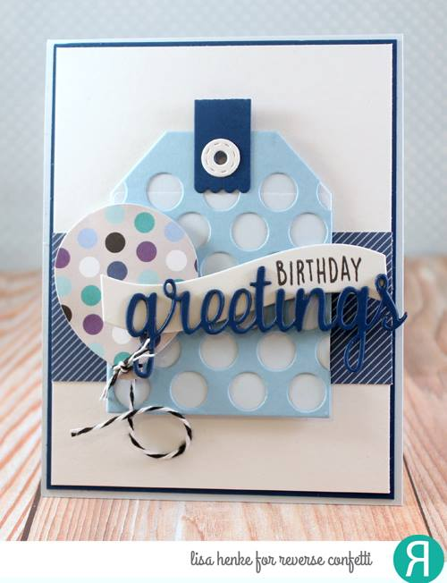 Dots Tag Layer Confetti Cuts
