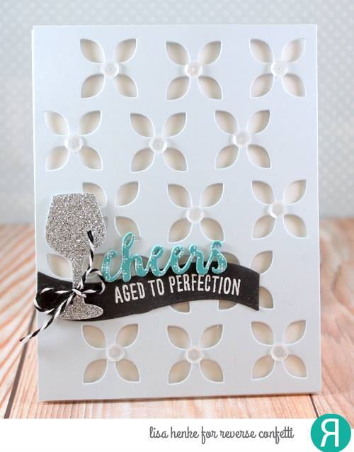 Large Eyelet Cover Panel Confetti Cuts