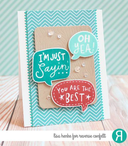 Figure Of Speech Confetti Cuts