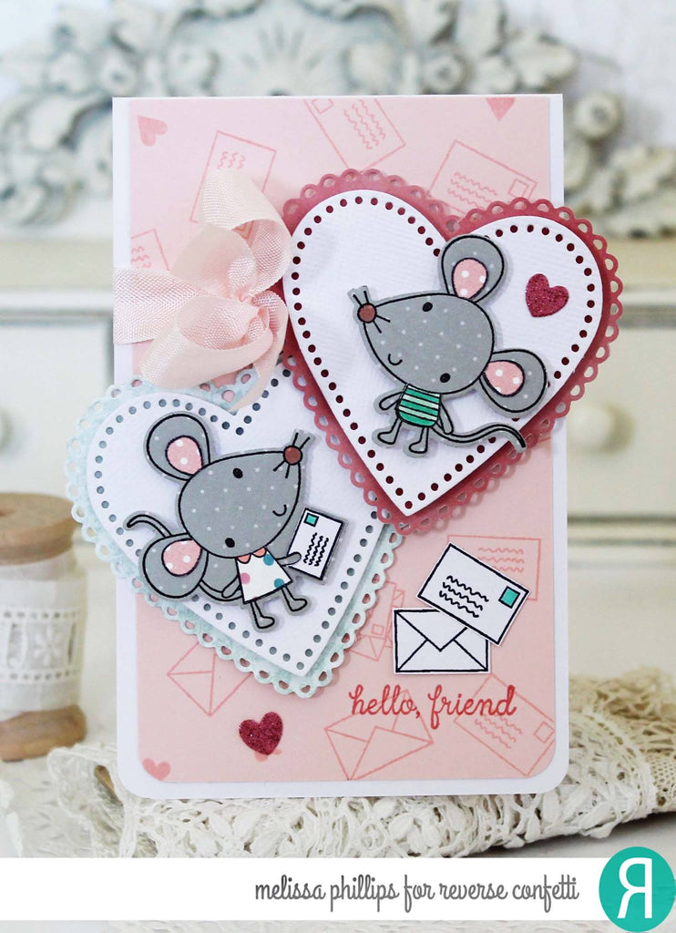 Mouse Mail Confetti Cuts