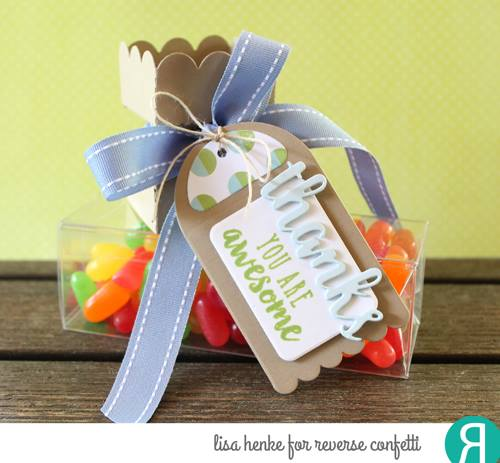 Round Top Tag Confetti Cuts