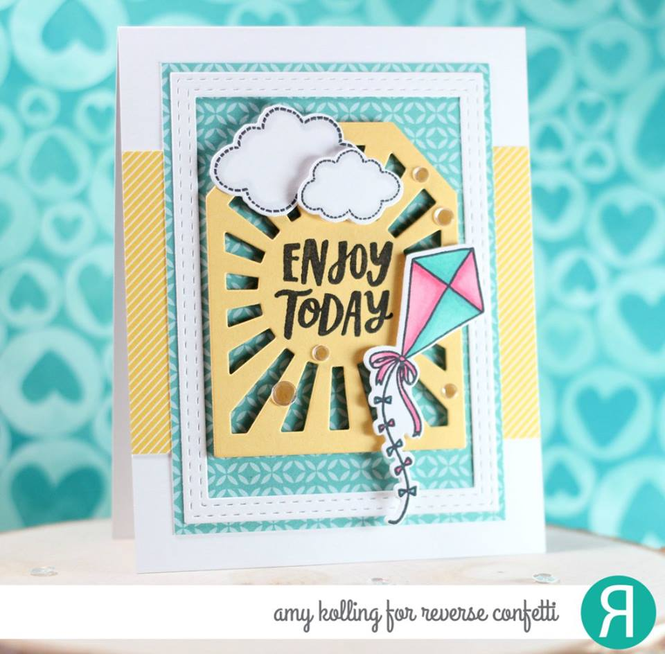 Sunburst Tag Layer Confetti Cuts