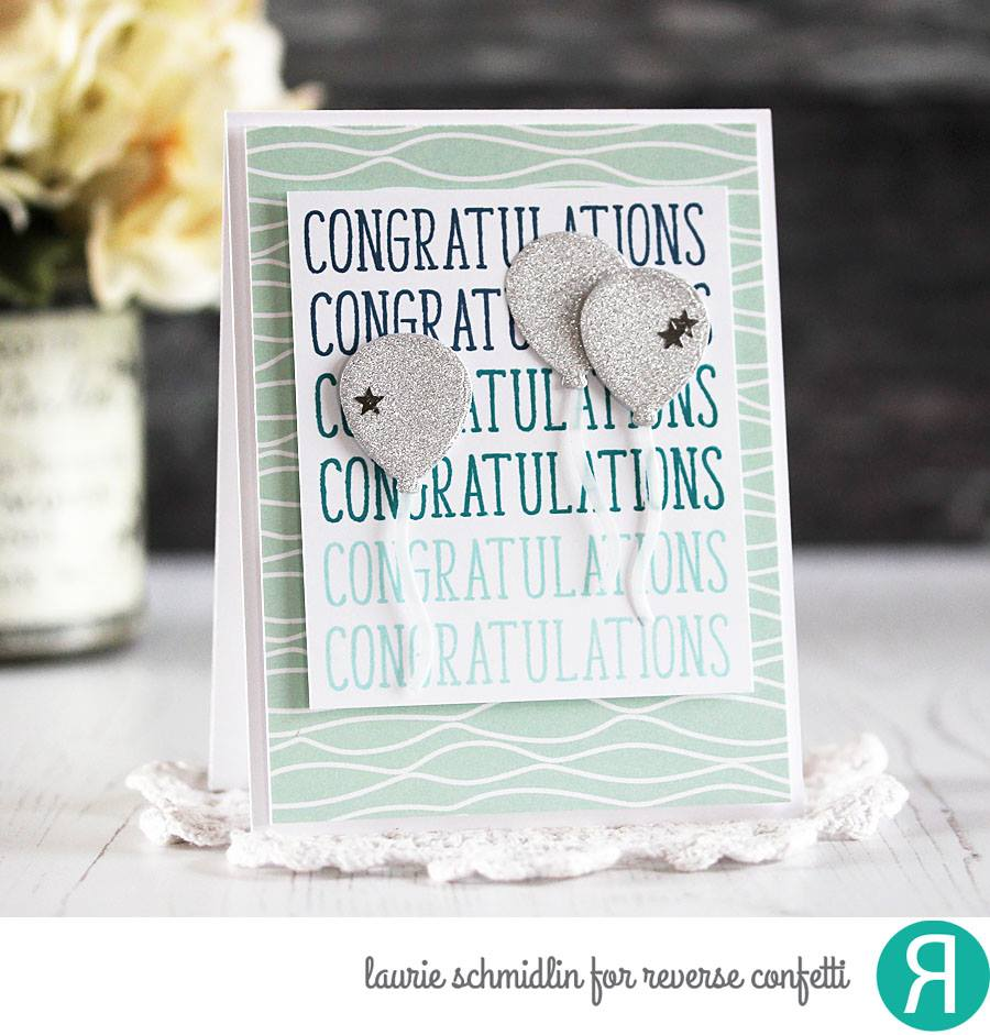 Congratulations Confetti Cuts