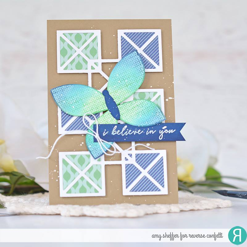 Geo Panel Confetti Cuts