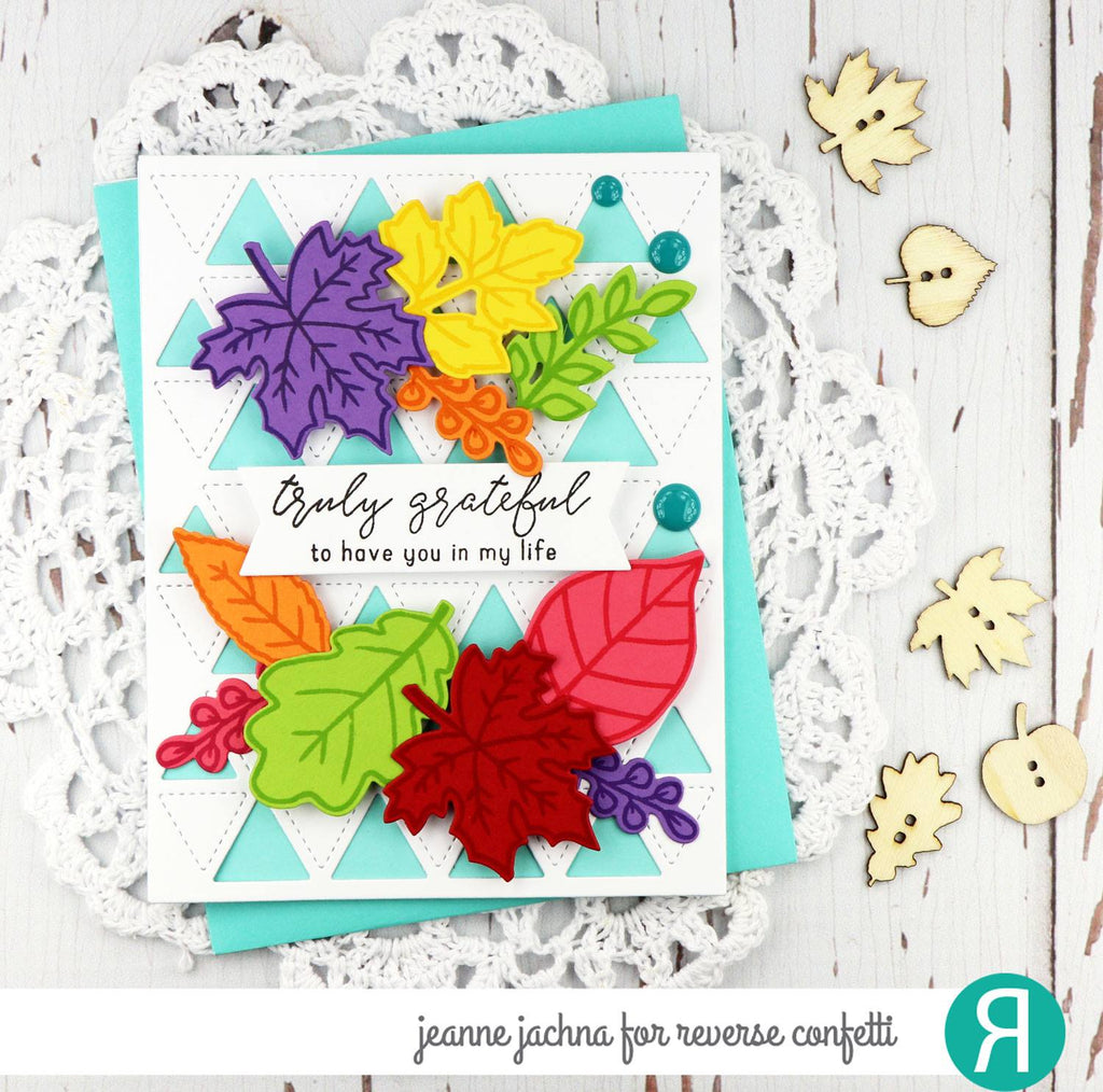 Fall Foliage Confetti Cuts