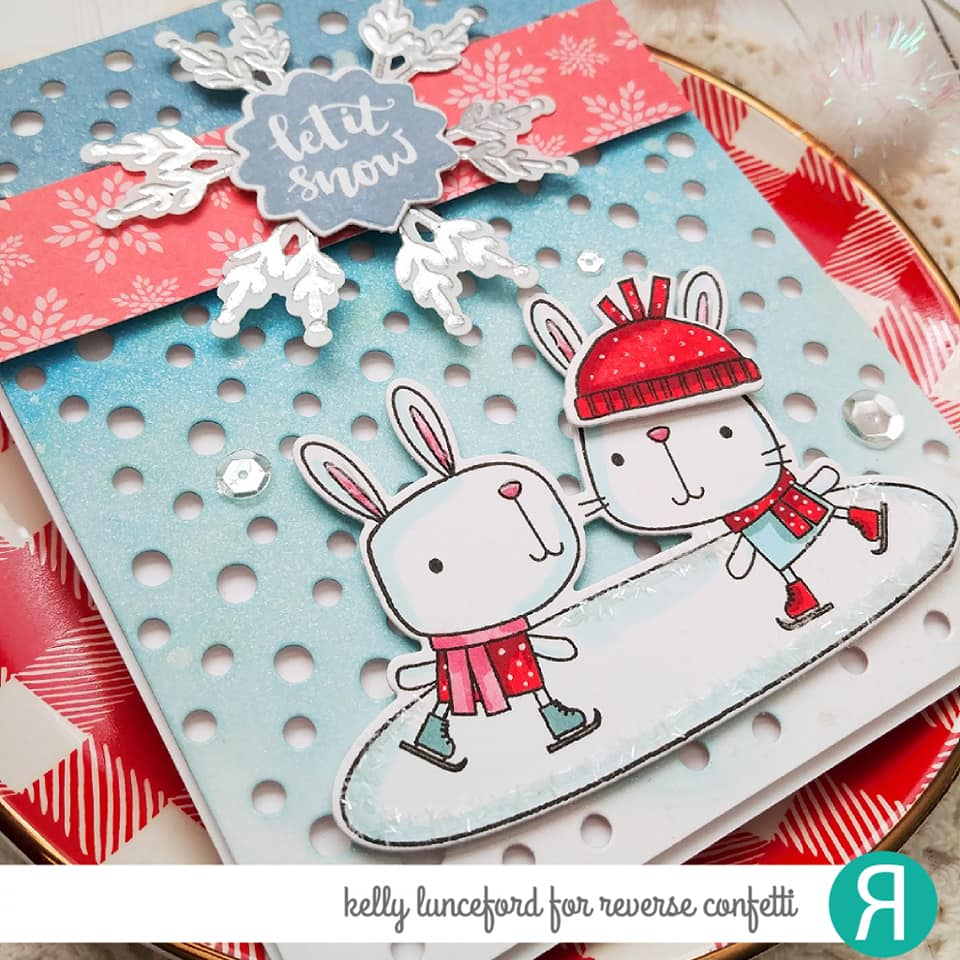 Snowballs Cover Panel Confetti Cuts