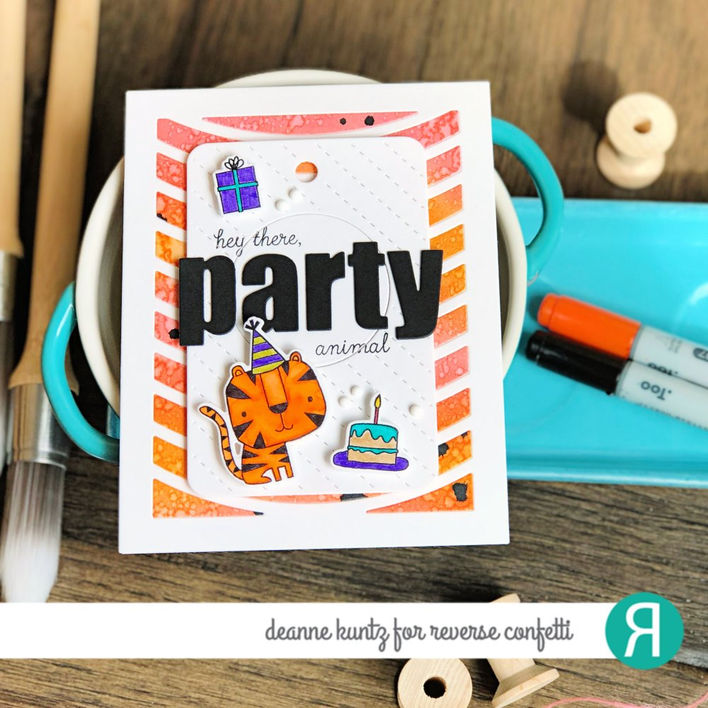 Party Animals Confetti Cuts