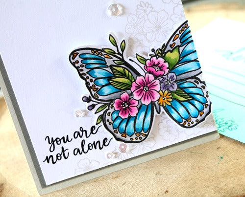 Butterfly Blossoms Confetti Cuts