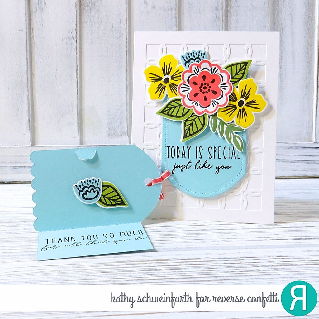 Fold Over Tag Confetti Cuts
