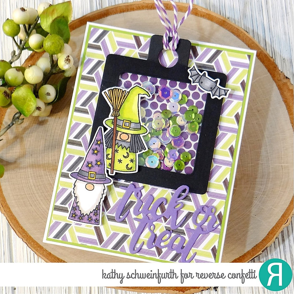 Square Window Tag Confetti Cuts