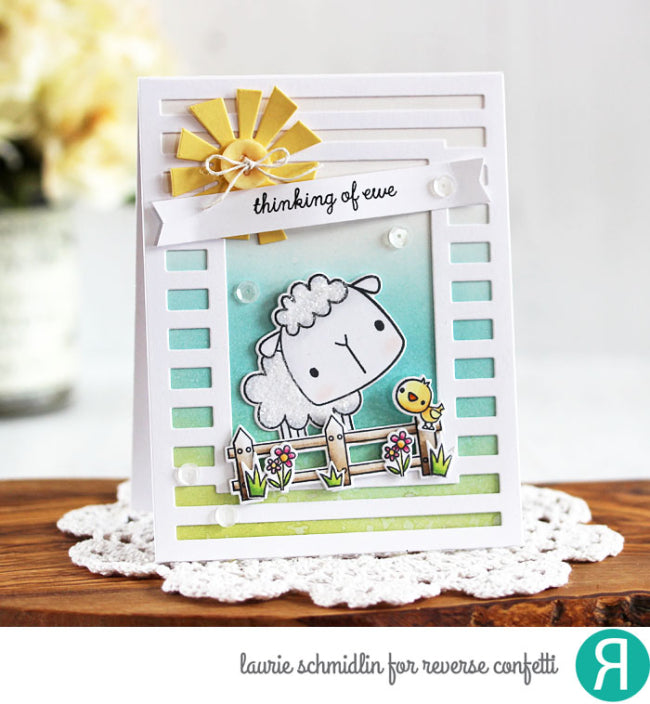 All About Ewe Confetti Cuts