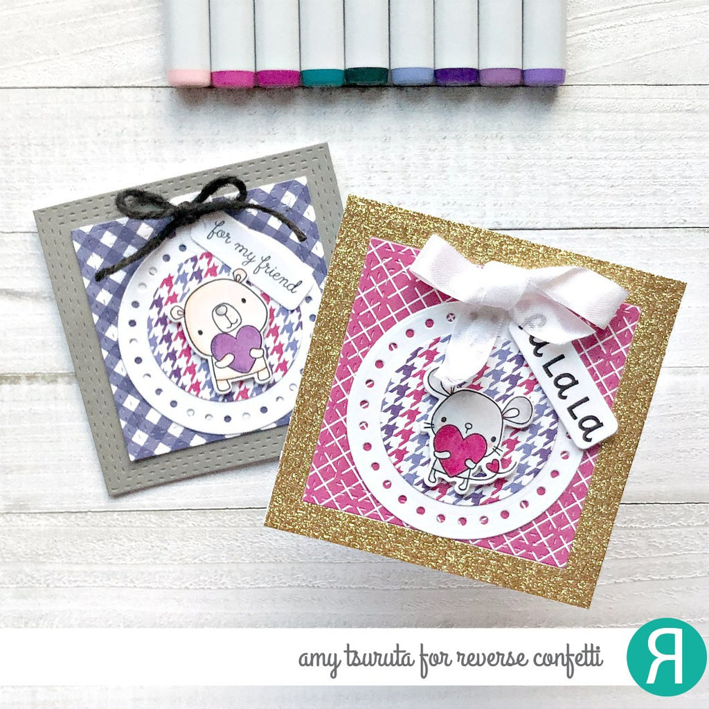 Circle Tag Confetti Cuts