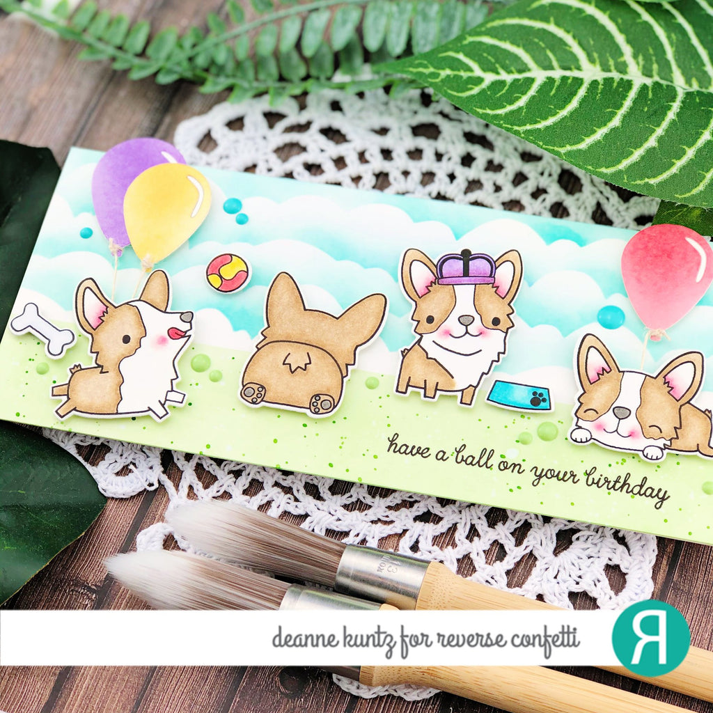 Corgi Cuties Confetti Cuts