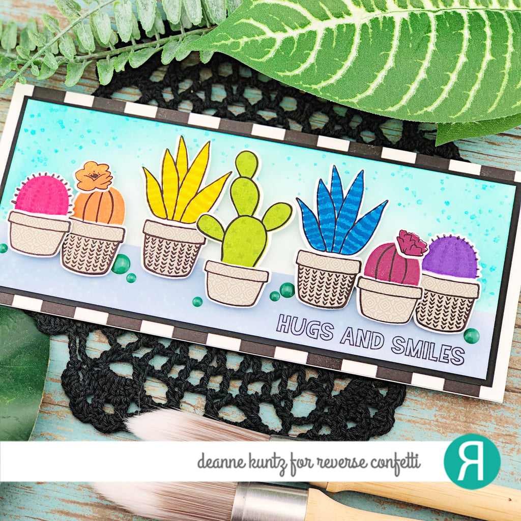Multi-step Cacti Confetti Cuts