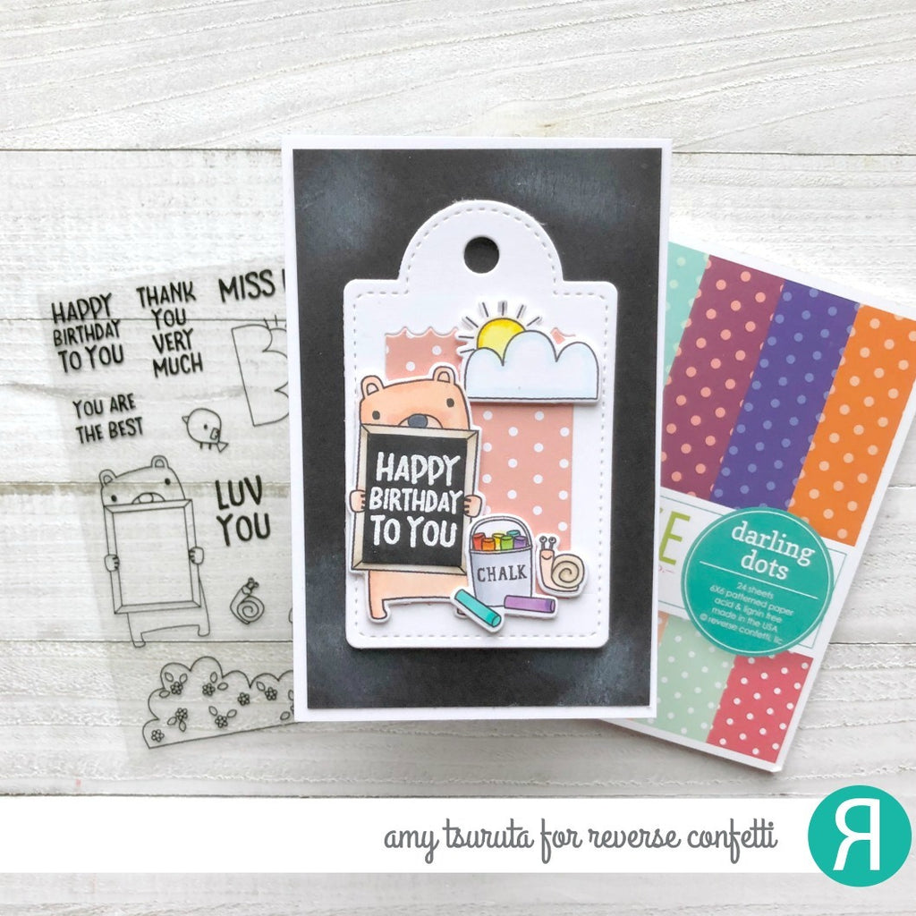 Scallop Window Tag Confetti Cuts