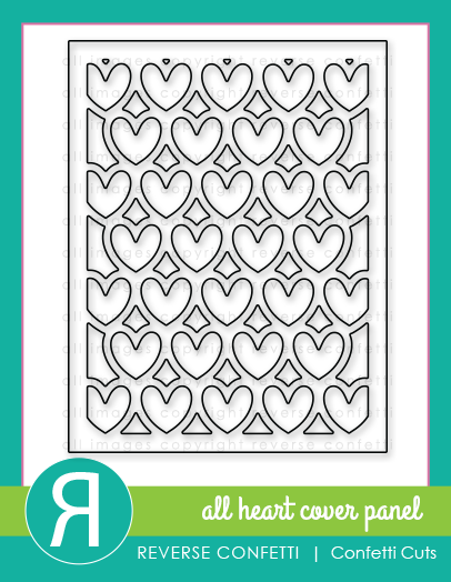All Heart Cover Panel Confetti Cuts