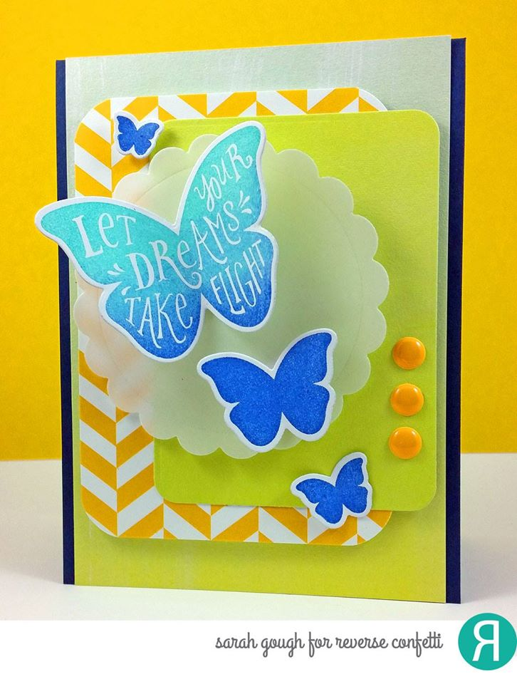 Butterfly Dreams Confetti Cuts