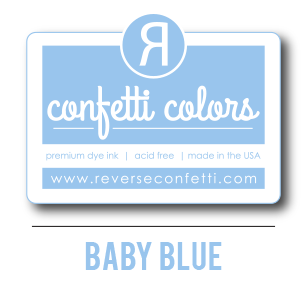 Baby Blue Dye Ink Pad