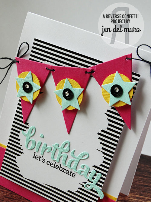 Layered Banner Duo Confetti Cuts