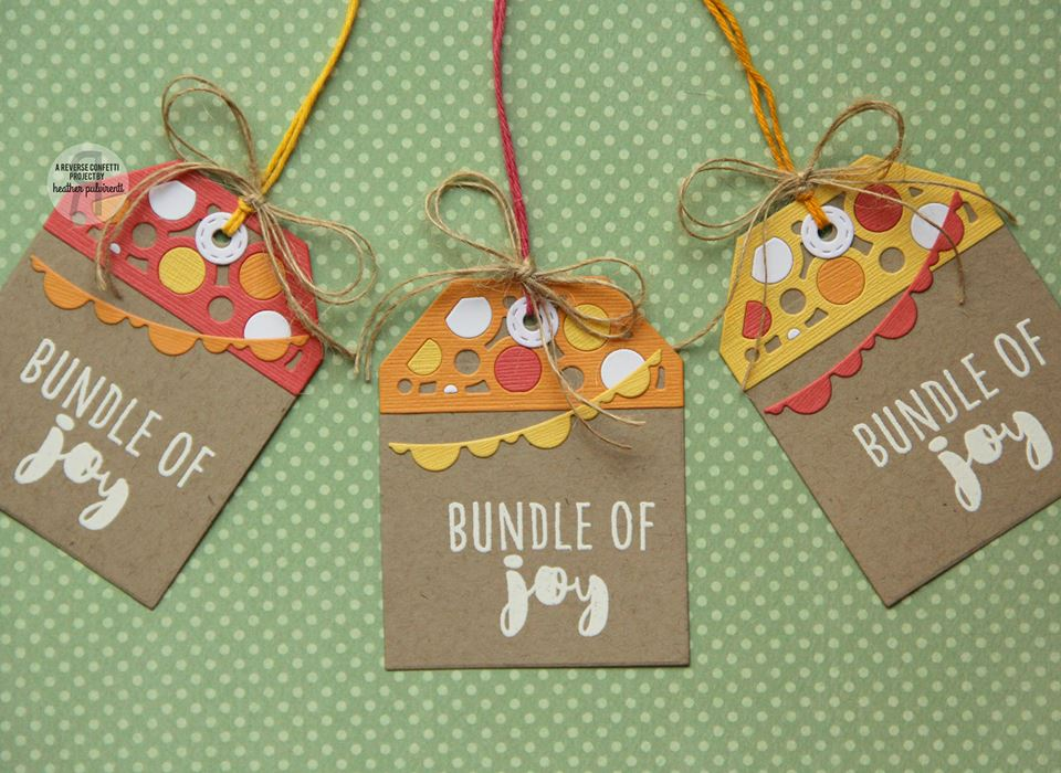 Bubbly Tag Topper Confetti Cuts
