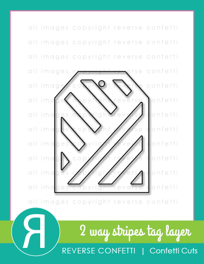 Two Way Stripes Tag Layer