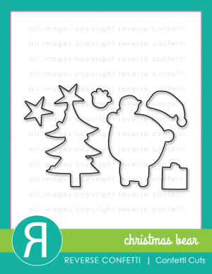 Christmas Bear Confetti Cuts