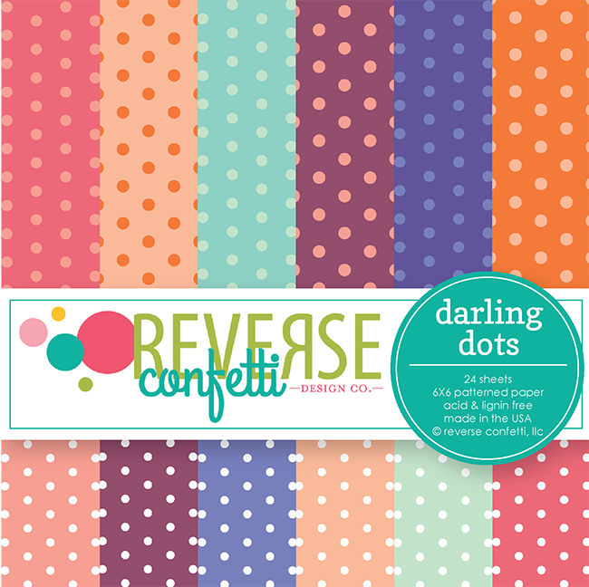 Darling Dots 6x6 Paper Pad