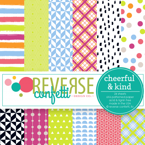 Cheerful & Kind 6x6 Pad