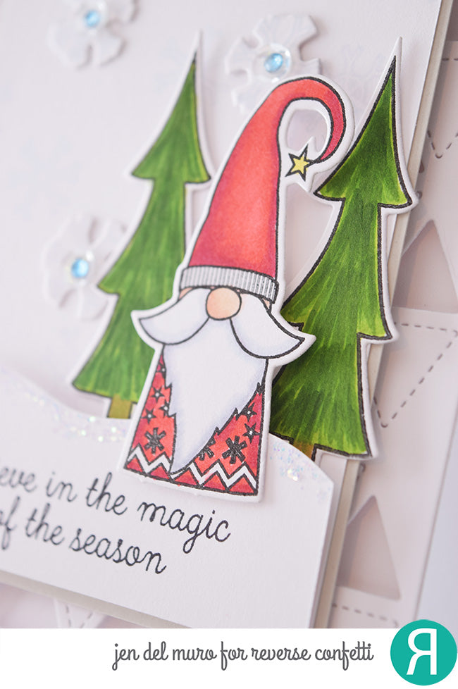 Holiday Gnomes Confetti Cuts