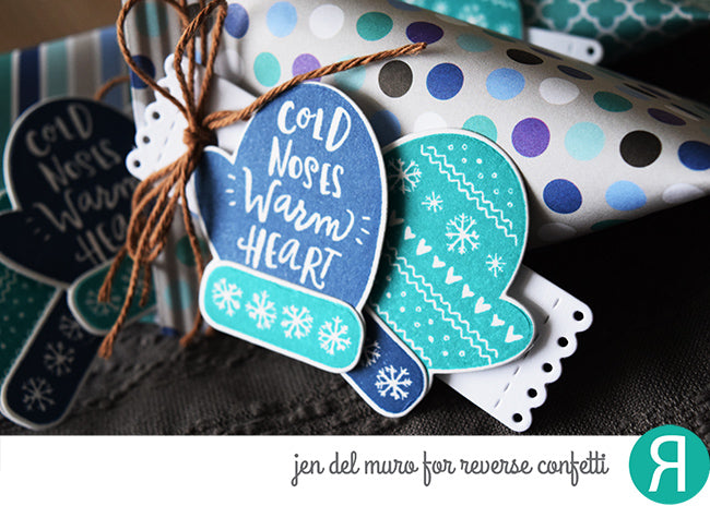 Tall Tag Trio Confetti Cuts