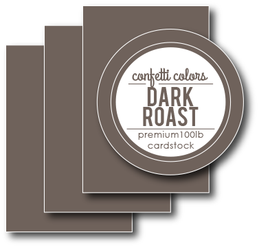 Dark Roast Cardstock 8.5 x 11