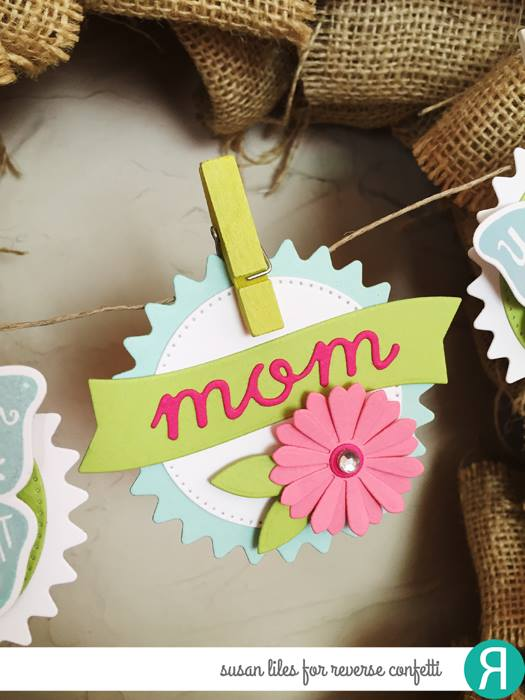 Flowers For Mom Confetti Cuts