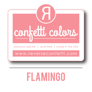 Flamingo Dye Ink Pad