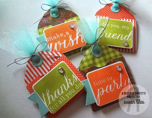 Folded Tag Sentiments