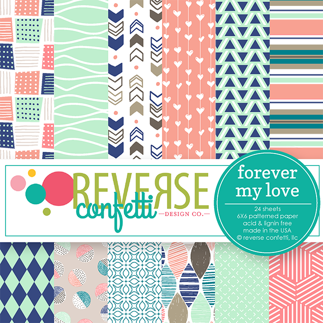 Forever My Love 6x6 Pad