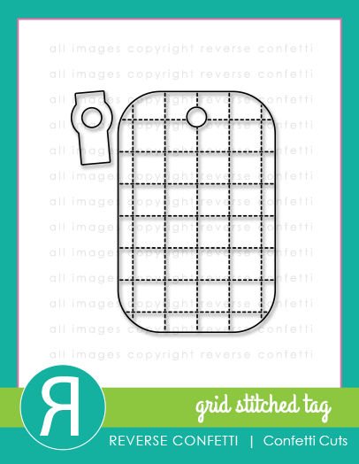 Grid Stitched Tag