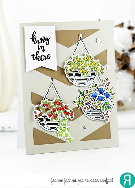 Hanging Blooms Confetti Cuts