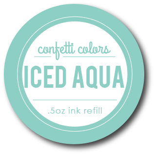Iced Aqua Dye Re-Inker