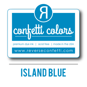 Island Blue Dye Ink Pad