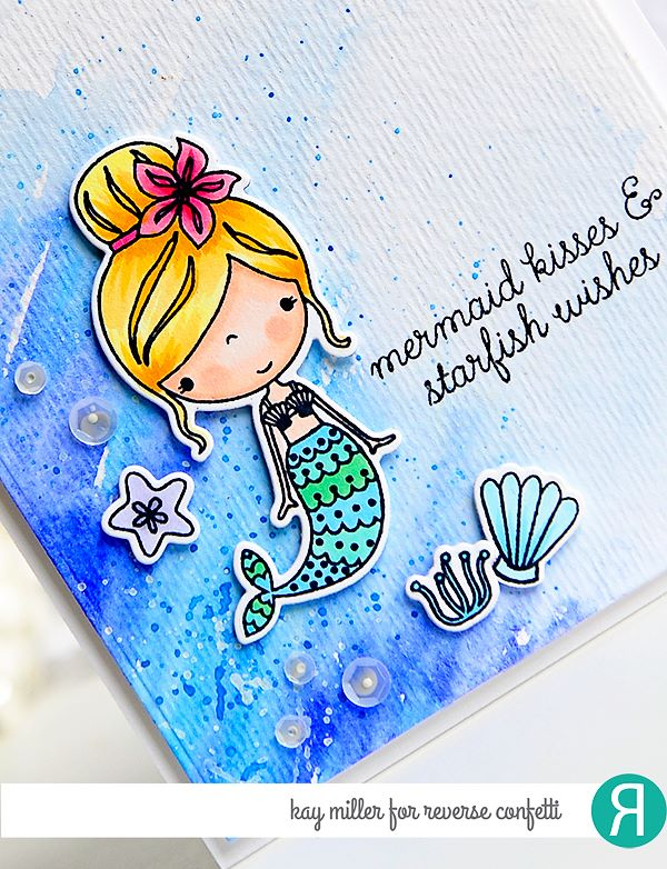 Mermaid Kisses Confetti Cuts