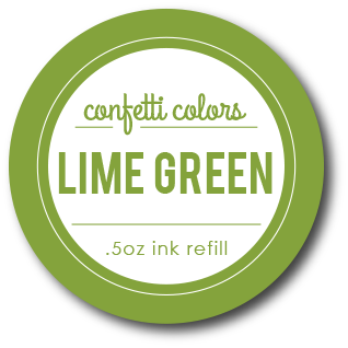 Lime Green Dye Re-Inker