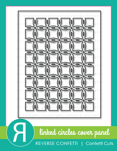 Linked Circles Cover Panel Confetti Cuts