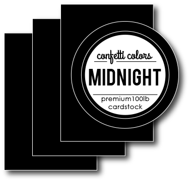 Midnight Cardstock 8.5 x 11