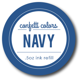 Navy Dye Re-Inker